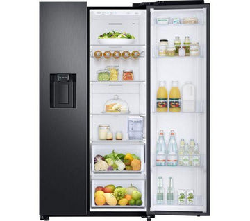 Samsung RS68N8330B1 American-Style Fridge Freezer in Black - Now with Free 5 yr Parts & Labour Warranty from Samsung (T&C Apply)