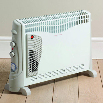 Daewoo HEA1137 2kW Fanned Convector Heater with Timer