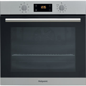 HOTPOINT SA2540HIX 8 Function Electric Built-in Single Oven - Stainless Steel