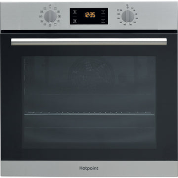 Hotpoint SA2840PIX Multifunction Electric Built-in Single Oven - Stainless Steel - **(£30.00 cashback = £295.00 )**