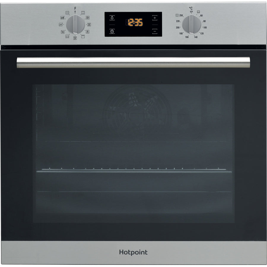 Hotpoint SA2840PIX Multifunction Electric Built-in Single Oven - Stainless Steel