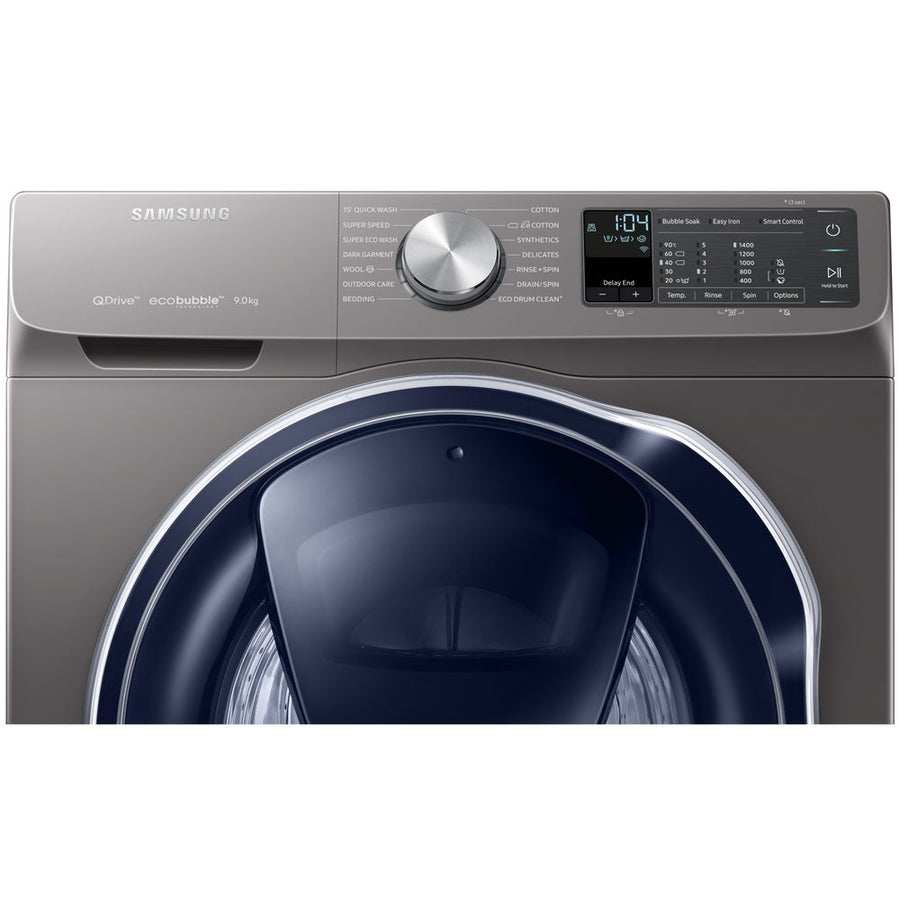 Samsung WW90M6450PO Quickdrive 1400 Spin 9Kg Washing Machine with 5 Year Parts & Labour Warranty (T&C Apply)