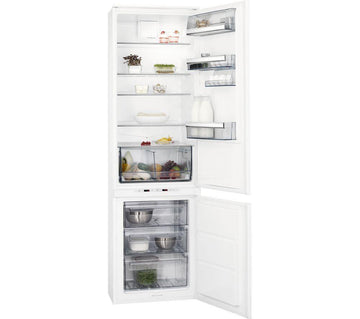 AEG SCE8191VTS Extra Tall Integrated Frost-Free Fridge Freezer With Electronic Controls