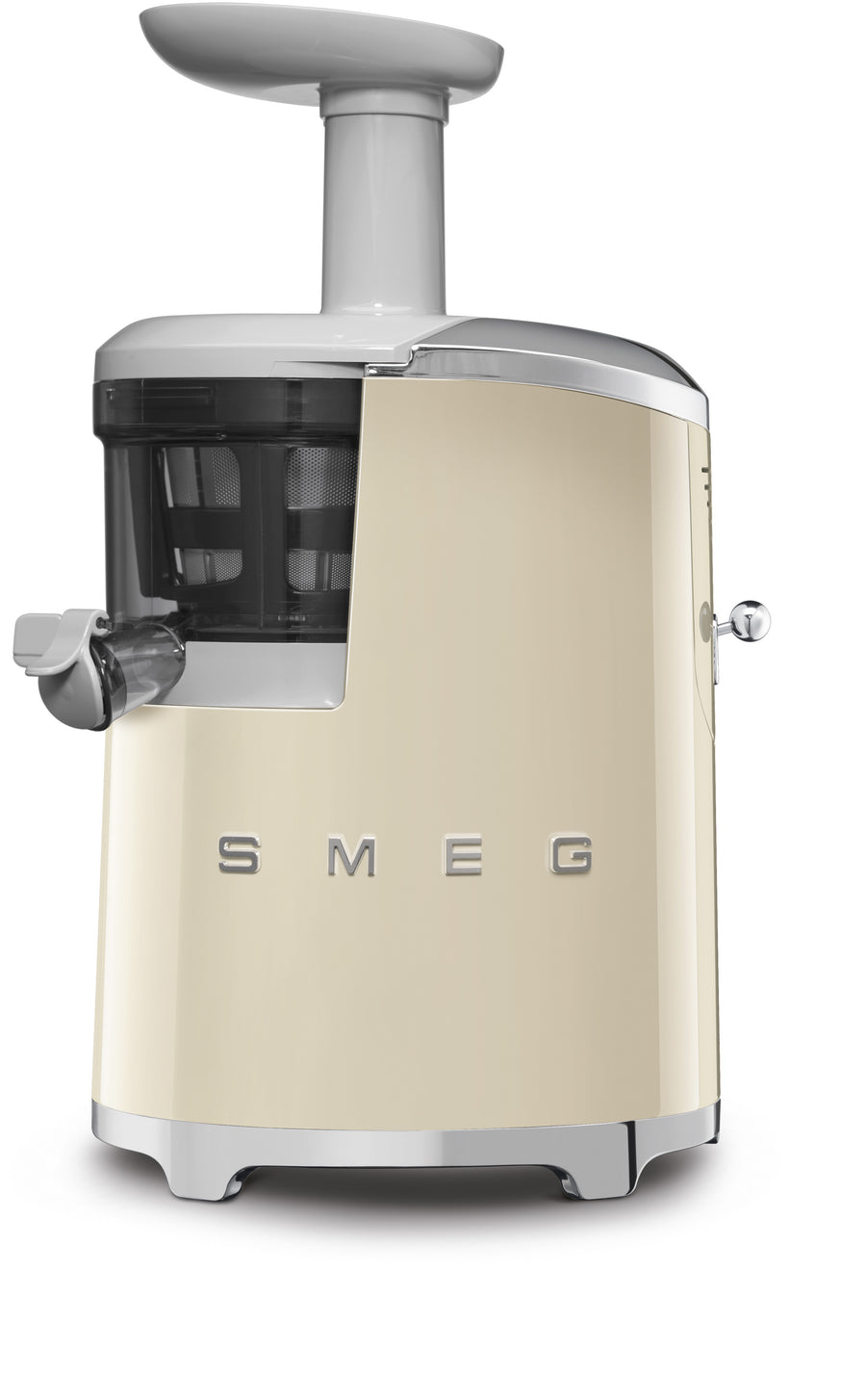 Smeg SJF01 50's Retro Style Aesthetic Slow Juicer Available in Cream
