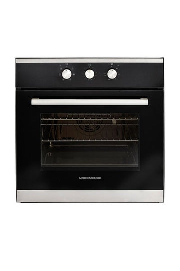 Nordmende SO203IX Stainless Steel Single Fan Oven - Free 3yr Parts & Labour Warranty On Registration