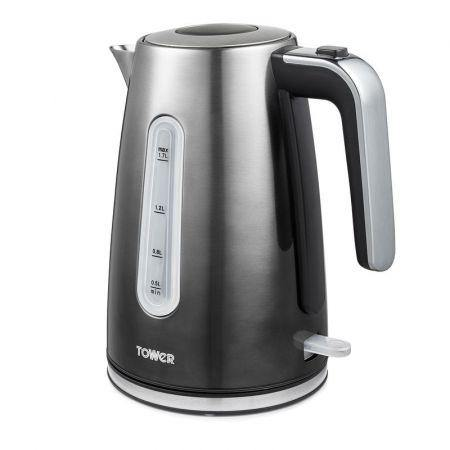Tower T10046GRP Infinity Ombre 3KW 1.7L Open Handle Kettle - Grey