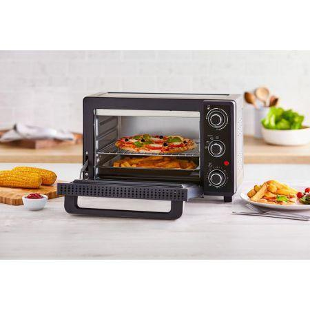 Tower T14043 23L Mini Oven - Black/Silver