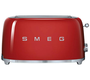 Smeg 50______s Retro TSF02RDUK 4 Slice Toaster in Red - RRP - £159.95