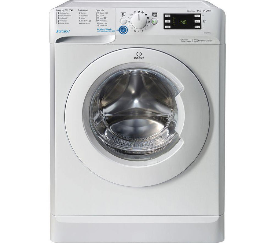Indesit BWE91484XWUK Washing Machine - 9 kg - A+++ energy rated