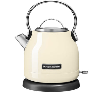 Kitchenaid 5KEK1222BAC traditional kettle in almond cream.