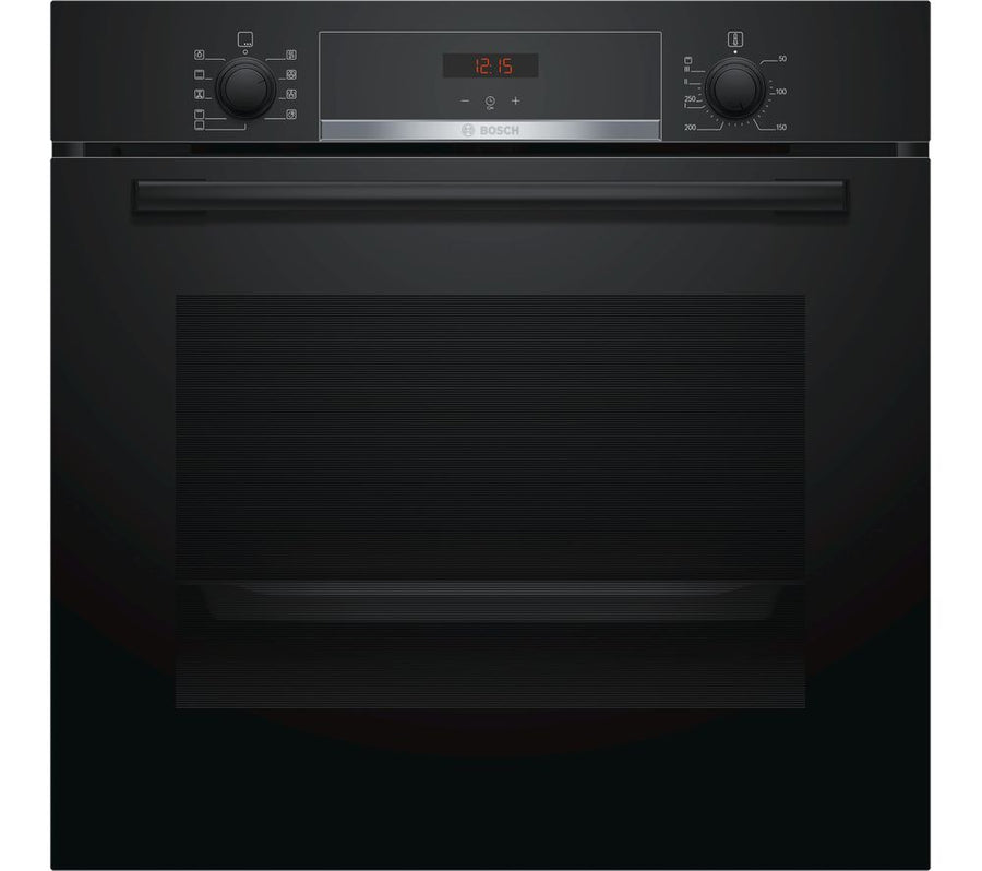 Bosch HBS534BB0B Serie 4 Multifunction Electric Built-in Single Oven - Black