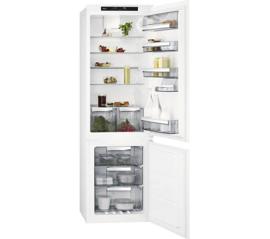 AEG SCE8181VTS 70/30 Frost Free Integrated Fridge Freezer - A+ Rated