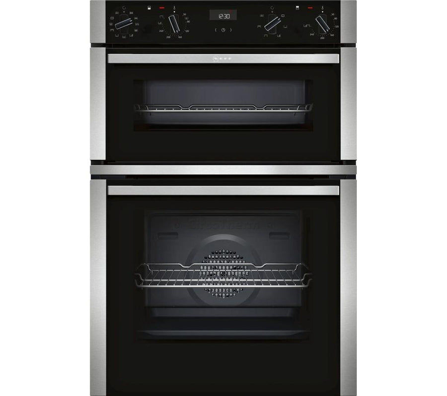 Neff U1ACE5HN0B Built-In Double Oven Stainless Steel