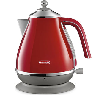 DELONGHI Icona Capitals KBOC3001.R Jug Kettle In Red
