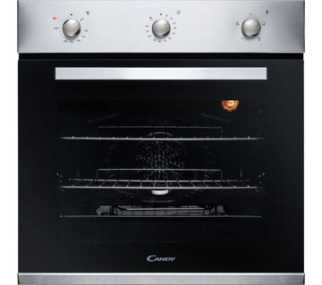 Candy FCP403X Stainless Steel Electric Built-in Single Oven - A Rated