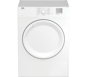 Beko DTGV8000W 8kg Vented Tumble Dryer-White - Free Delivery