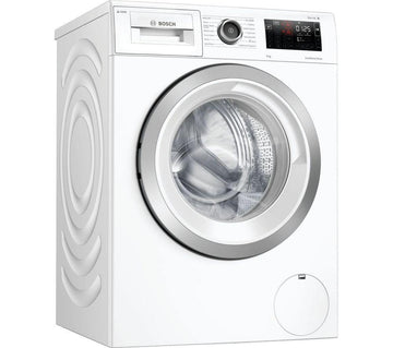 Bosch WAU28PH9GB 9kg washing machine - white. 1400rpm spin speed with 14 wash programmes