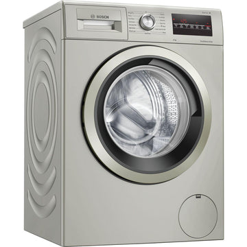 Bosch WAN282X1GB 8kg 1400rpm Spin Speed Washing Machine In Silver Inox - A+++ Rated
