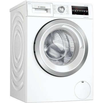 Bosch WAU28S80GB 8 kg washing machine. 1400 rpm spin speed with i-DOS intelligent system and EcoSilence. In white.
