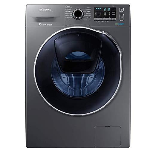 Samsung WD90K5B10OX/EU Washer Dryer, 9kg Wash Load/6kg Dry Load, A++ Energy Rating, Grey