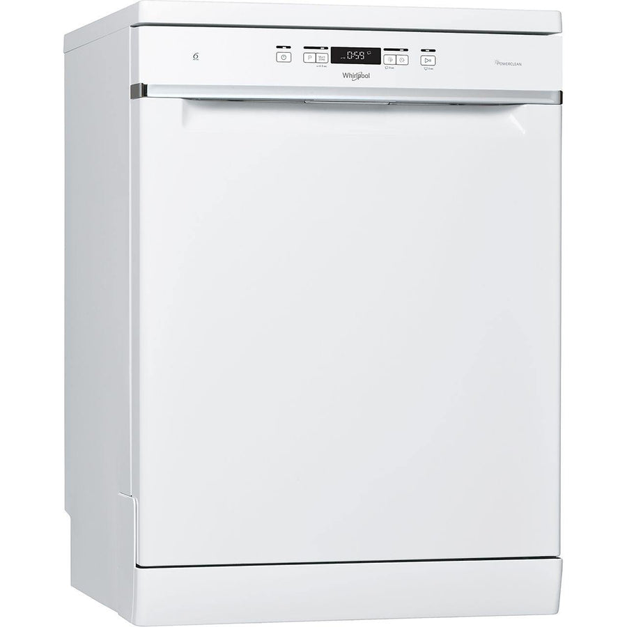 Whirlpool WFC3C33PFUK 14 Place Setting Freestanding Dishwasher - White - A+++ Rated