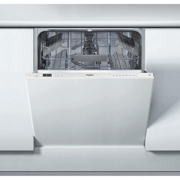Whirlpool WIC3C26 14 Place Fully Integrated Dishwasher with Quick Wash - White