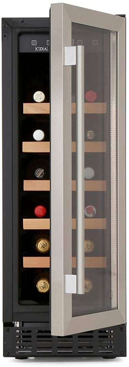 CDA FWC304SS Freestanding-Under Counter Slim Line Wine Cooler In Stainless Steel