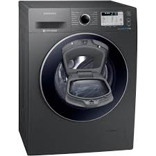 Samsung WW90K5413UX AddWash™ ecobubble™  9Kg Washing Machine with 1400 rpm - Graphite - A+++ Rated
