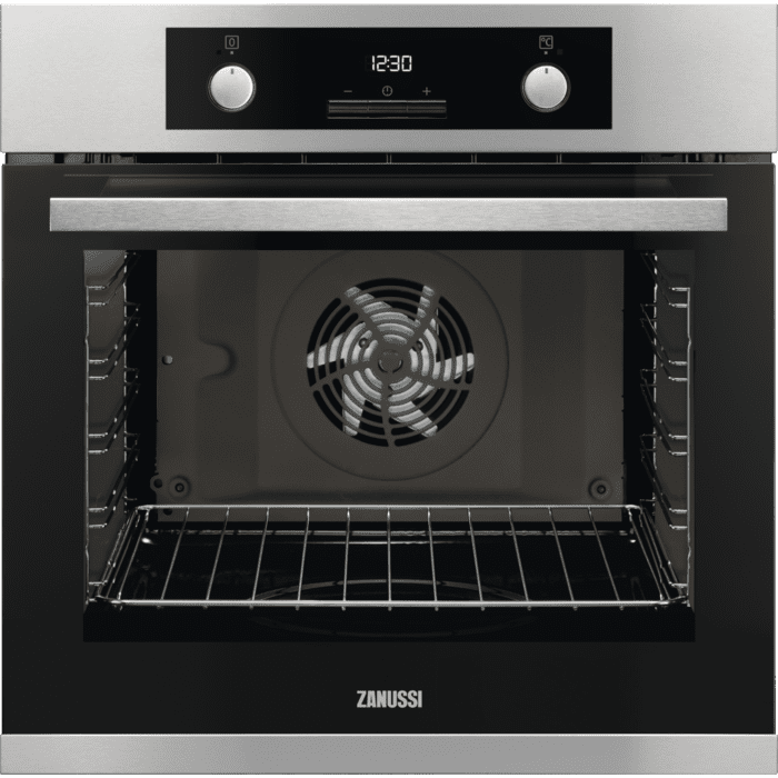 Zanussi ZOA35972XK Multifunction Single Oven With Programmable Timer - Stainless Steel