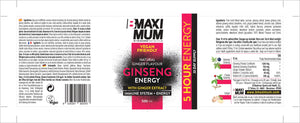 Ginseng Energy - 500 ml