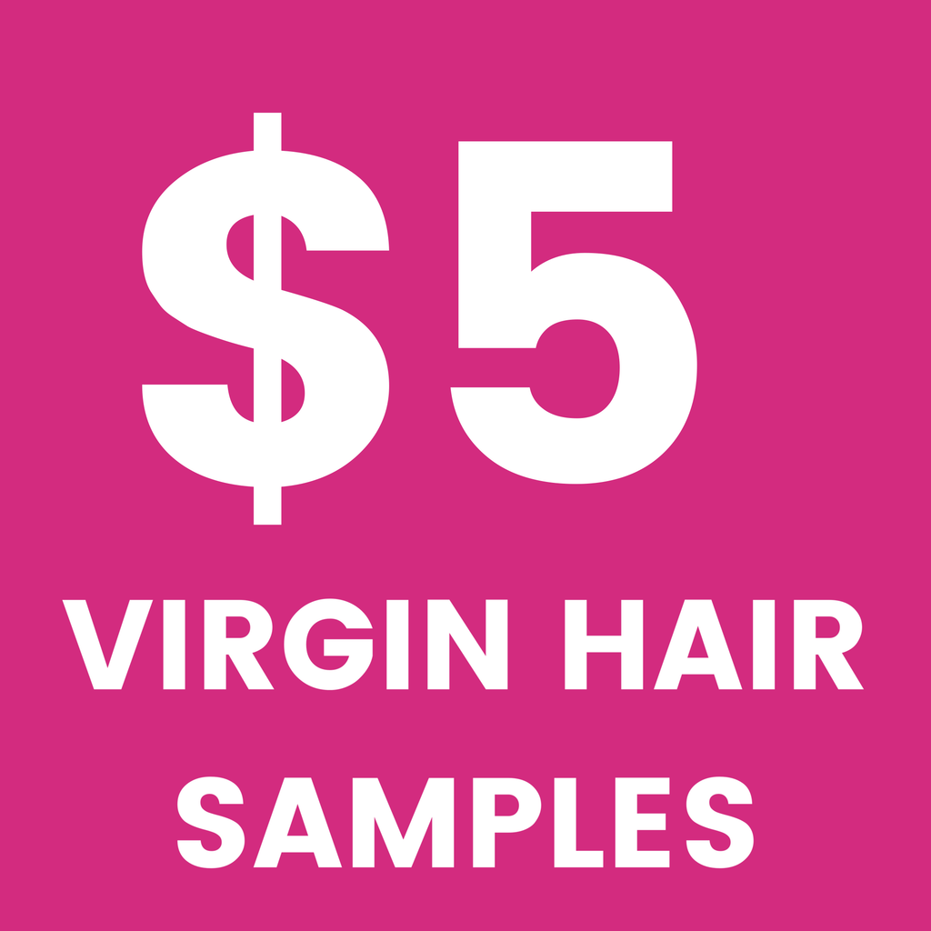 Virgin Hair Samples