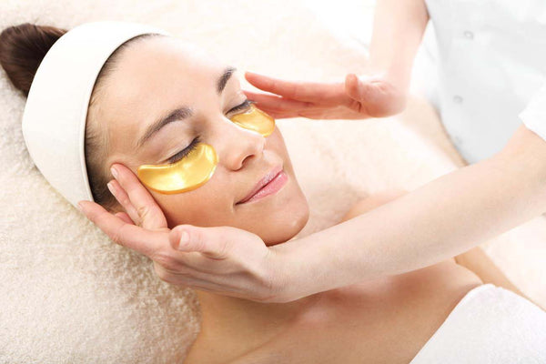 hydrogel mask, gold collagen, eye mask
