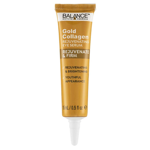 Balance Active Skincare Gold Collagen Rejuvenating Eye Serum 15ml - Balance Active Formula