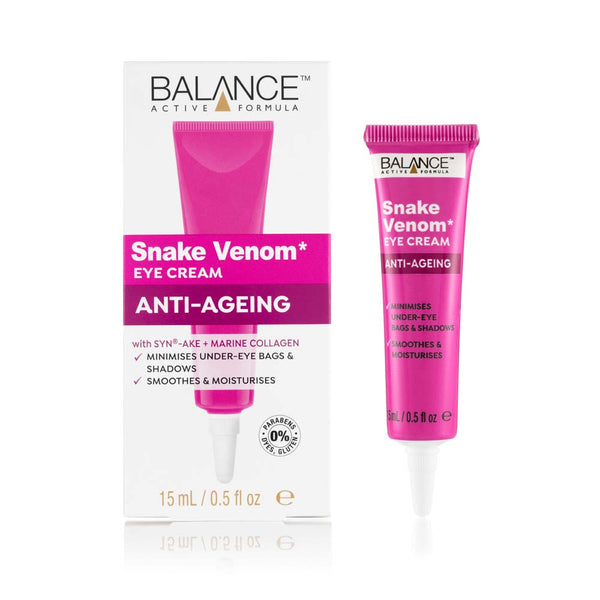 Balance Active Formula Snake Venom Eye Cream 15ml - Balance Active Formula