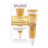 Balance Active Skincare Gold + Marine Collagen Rejuvenating Eye Serum 15ml - Balance Active Formula