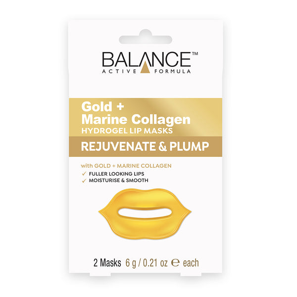 Balance Active Skincare Gold + Marine Collagen Hydrogel Under Lip Masks - Balance Active Formula