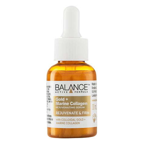 Balance Active Skincare Gold + Marine Collagen Rejuvenating Serum 30ml - Balance Active Formula