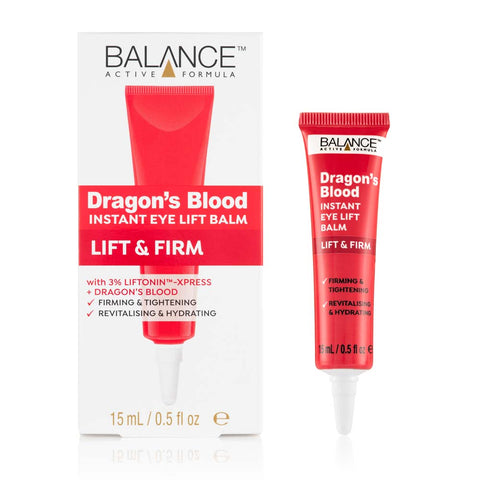 Dragon's Blood Instant Eye Lift Balm 15ml - Balance Active Formula