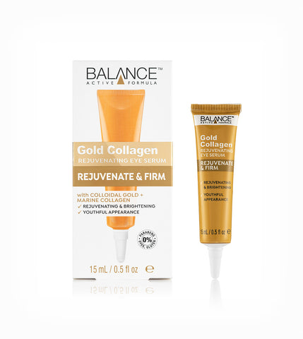 Gold Collagen Rejuvenating Eye Serum - Balance Active Formula