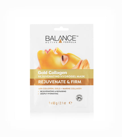 Gold Collagen Rejuvenating Hydrogel Mask - Balance Active Formula