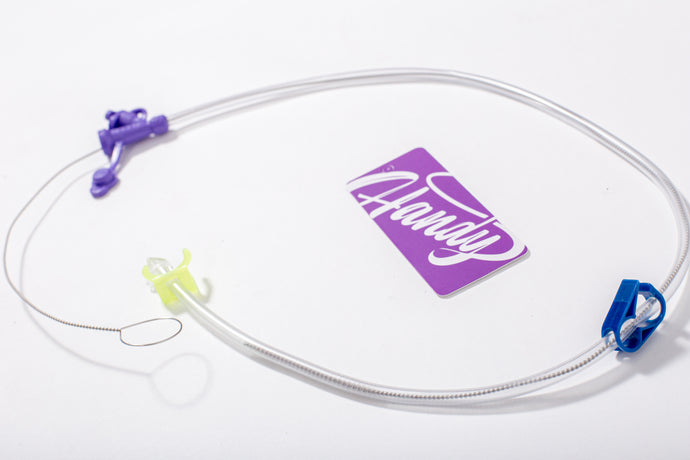 Cleaning brush for enteral feeding tubes - Handy Adapted Products