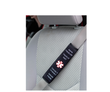 Load image into Gallery viewer, Medical Alert Device for car seat belt - Handy Adapted Products