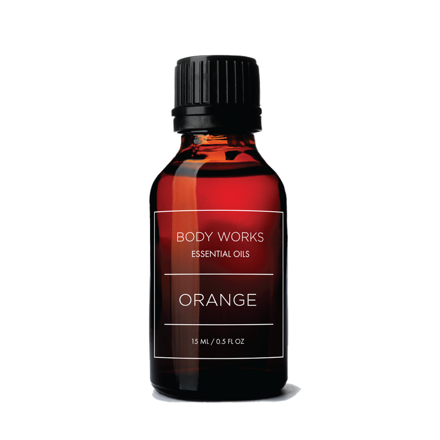 BODY WORKS -ORANGE ESSENTIAL OIL Essential Oil