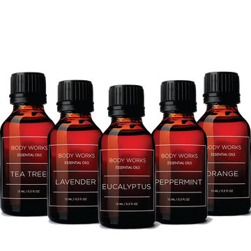 BODY WORKS -TOP 5 - THERAPEUTIC GRADE OILS - BUNDLE Essential Oil