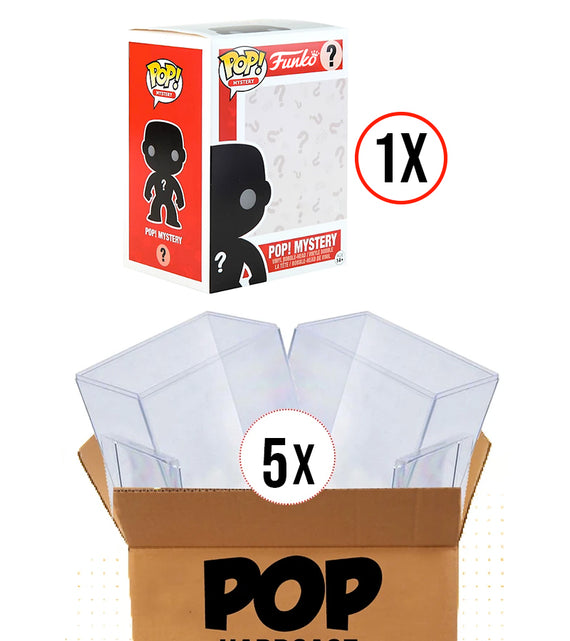 1 Mystery POP - 5 Hard Cases