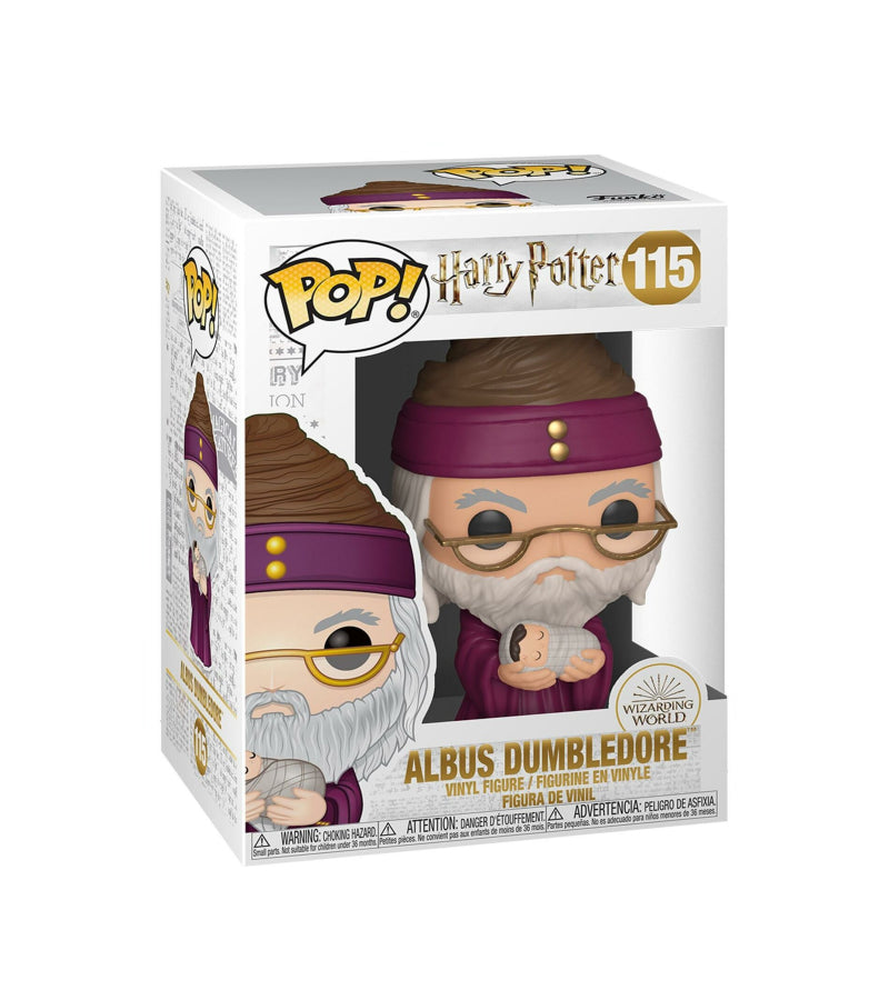 Albus Dumbledore - Harry Potter - 115 - Funko POP - Wizarding World