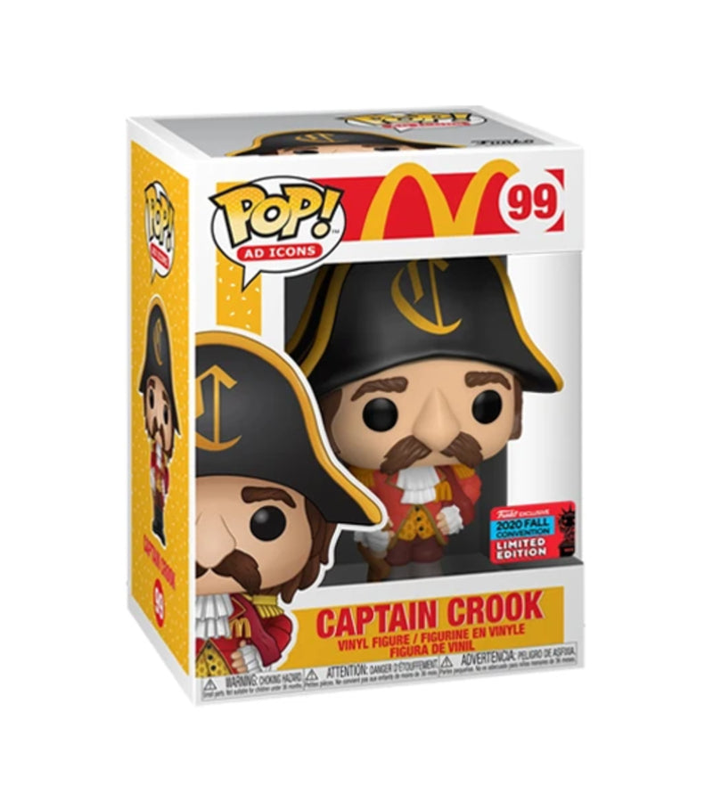 Captain Crook - 99 - POP Ad Icons - Funko Exclusive 2020 Fall Convention Limited Edition