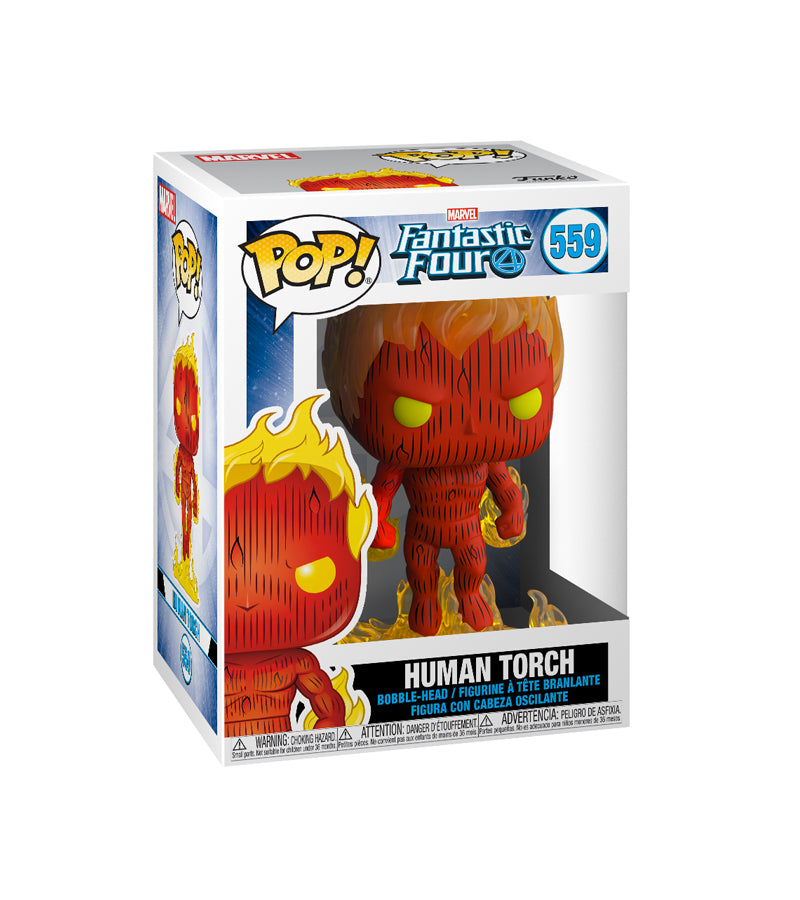 Fantastic Four - Human Torch - 559 - Funko Pop