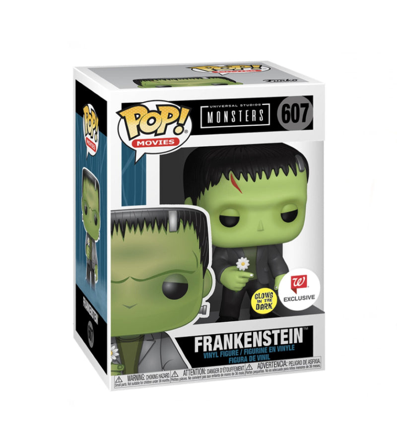 Frankenstein - Universal Studios Monsters - 607 - POP Movies - Glows In The Dark Special Edition