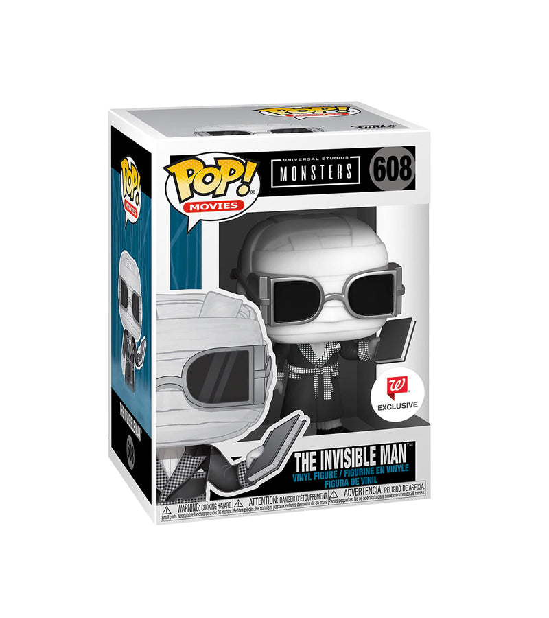 Funko Pop The Invisible Man - 608 Walgreens  Exclusive 2020